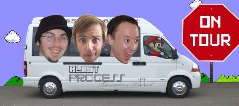 Blast Process On Tour Intro - The Trafford Centre Namco Station