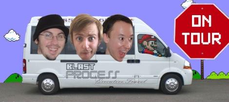 Blast Process On Tour - Namco Station Arcade Hopping Road