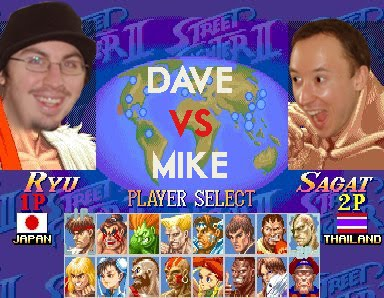 Eurogamer Expo '11 Street Fighter 2: Dave Vs. Mike
