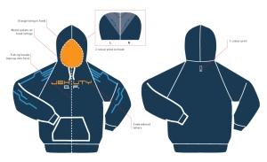 Jehuty hoodie