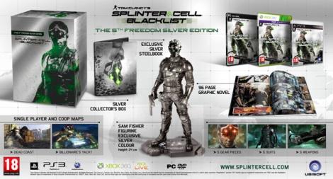 Tom Clancy's Splinter Cell Blacklist™ - The 5th Freedom Silver Edition